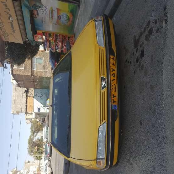 پژو تاکسی مدل ۸۸ خط اسلامشهر ..سرنوری..شهرک توحید