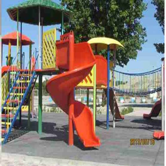 طراحی و تولید وسایل بازی_پارک فایبرگلاس