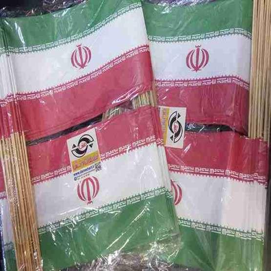 پرچم ایران_ایران پرچم_راهبند_پرچم کاغذی