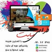 طراحی سایت در آمل