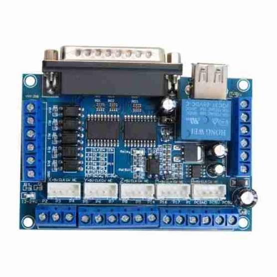 کارت کنترلر سی ان سی CNC پنج محور mach3 پورت LPT