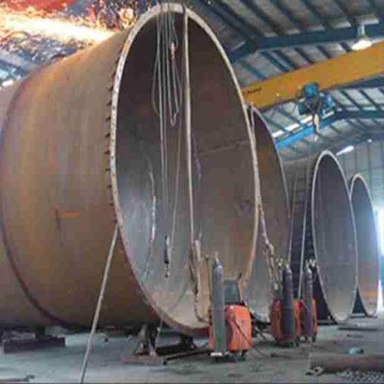 ساخت انواع سوله – سازه صنعتی - اسکلت فلزی