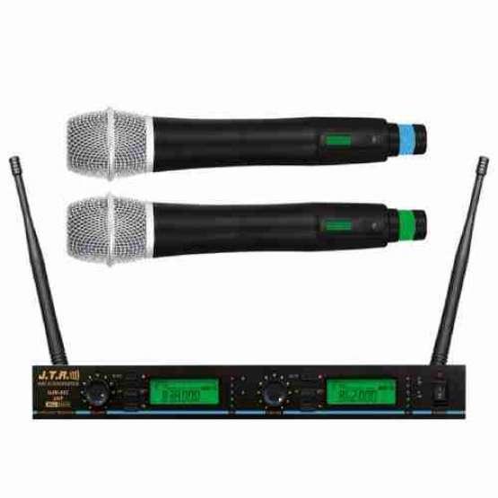 میکروفن بیسیم دو کانال دستی JTR-882
