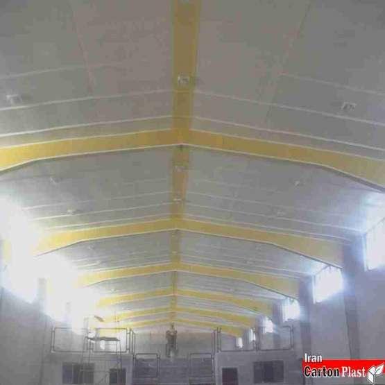 پوشش سقف سوله کارتن پلاست