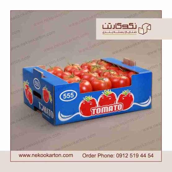 تولید تخصصی کارتن میوه صادراتی