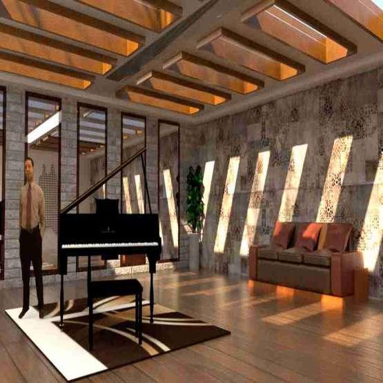 آموزش معماری و انجام پروژه های دانشجویی و اجرایی