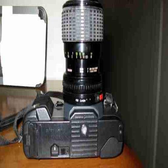 دوربین عکاسی CANON T70 با لنز35&70 مکرو