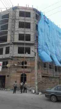 نصب دیوار پیش ساخته تریدی پنل و اجرای شاتکریت