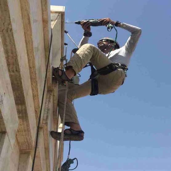 خدمات کار در ارتفاع بدون داربست  ( راپل )