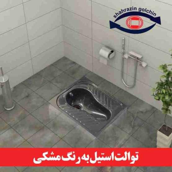 کاسه توالت استنلس استیل