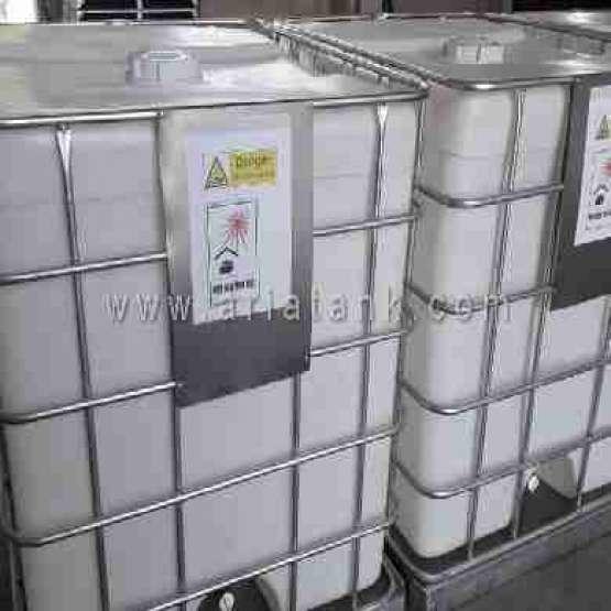 آریا پلاست تولید مخازن پلی اتیلن IBC