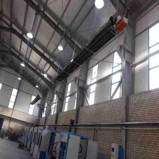 گرمایش سوله - بخاری صنعتی