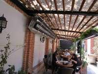 بخاری سقفی گازی رستوران گرماتاب