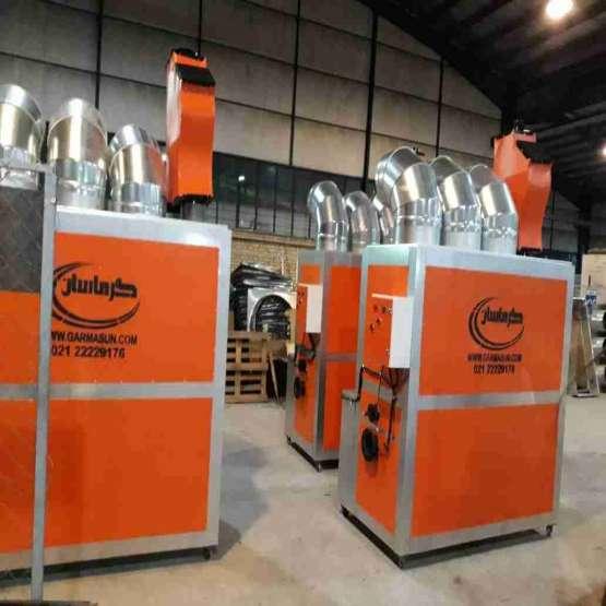 سیستم گرمایش گازی گلخانه گرماتاب