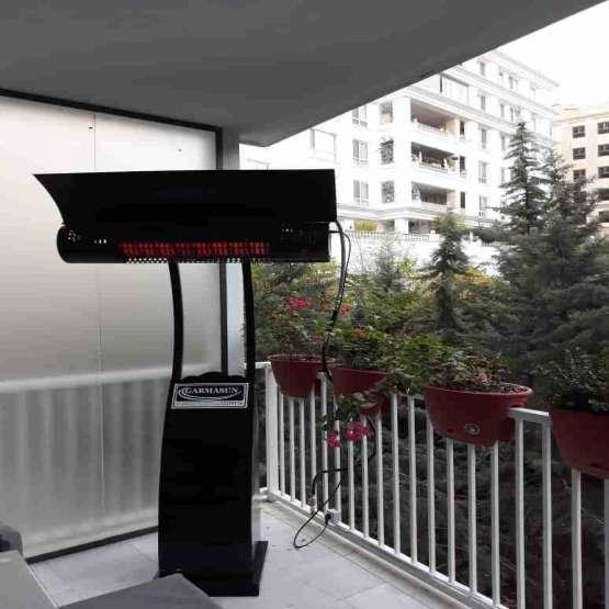 گرماتاب دیواری رستوران - هیتر سرامیکی سقفی