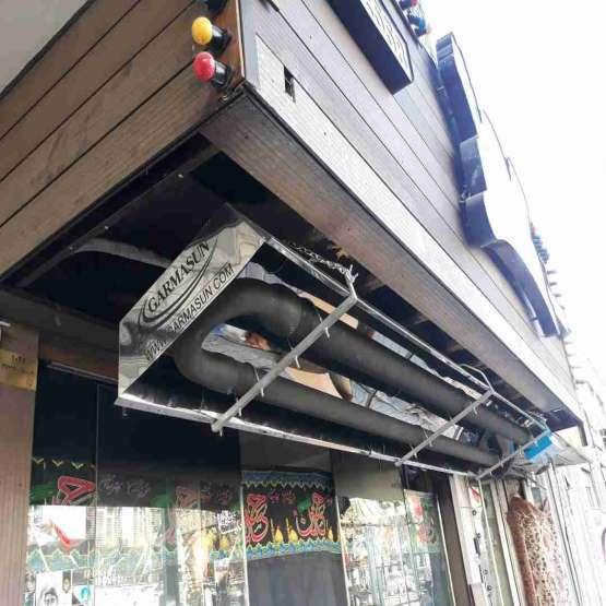 سیستم تابشی لوله ای رستورانی