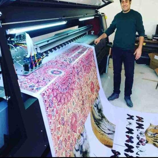 دستگاه چاپ مستقیم رویه پارچه بدون نیاز به ککوتین