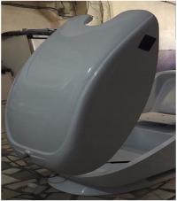 طراحی و تولید انواع قطعات فایبر گلاس
