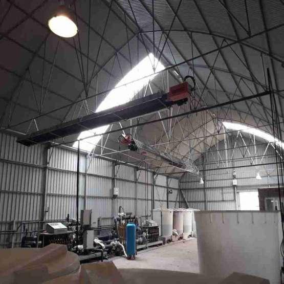 قیمت بخاری صنعتی - هیتر سقفی - سیستم گرمایش صنعتی گرماتاب