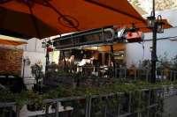 گرمایشی رستوران لوله ای