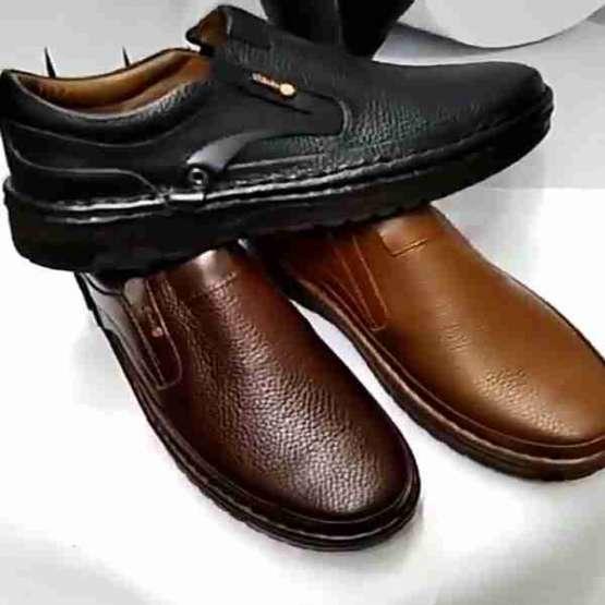فروش  بهاری کفش تمام چرم مردانه وانلیا