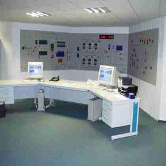 طراحی برنامه نویسی ساخت و راه اندازی اتاق کنترل