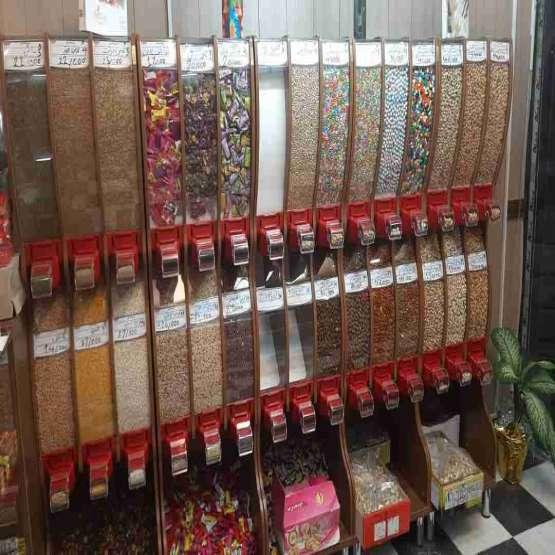 استندهای فروشگاهی محصولات فله