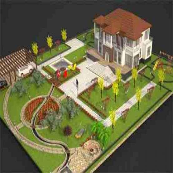 باغ 2064 متری در قالب مجموعه باغ ویلا شهرکی در ایرانشهر