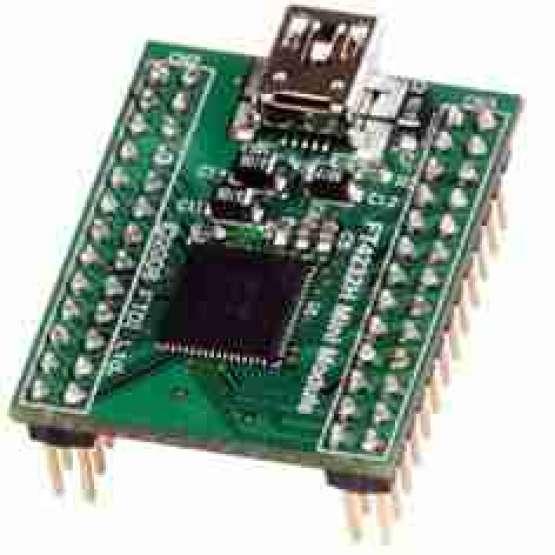 مینی ماژول مبدل USB به 4 پورت سریال - FT4232H Mini Module