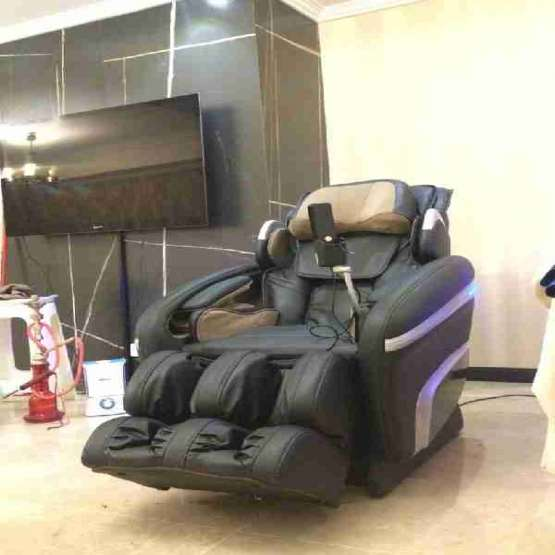 تعمیر صندلی ماساژور تعویض روکش چرم صندلی ماساژ