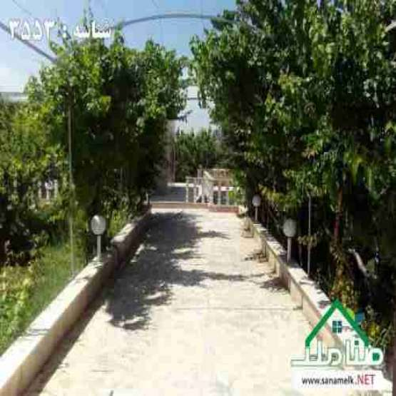 باغ 1710 متری در شهرک باغ ویلایی مستعد رشد