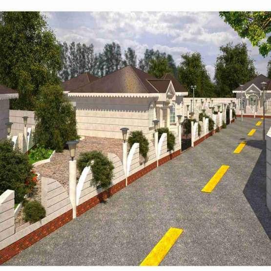 باغ با متراژ 2400 متر با نهال ۲.۵ ساله در قالب مجموعه باغ شهر شهرکی
