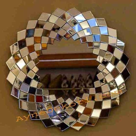 آینه دکوراتیو مدرن و شیک طرح آذرخش