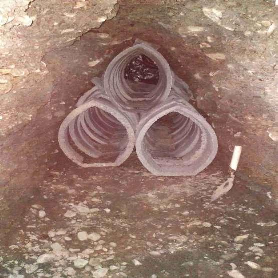 حفاری چاه و اتصال اگو
