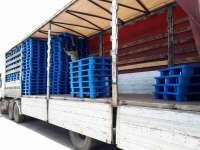 فروش پالت پلاستیکی پالت صادراتی پالت زیر باری  پالت شانه ای